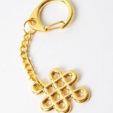 Prívesok kľúčenka s nekonečným uzlom šťastia ... ef109e95929
