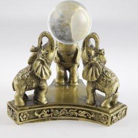 tri slony s perlou šťastia