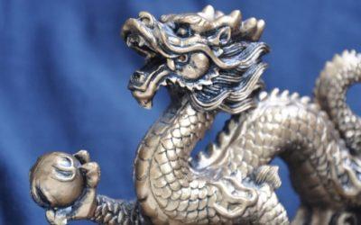 Drak – mocný symbol vo Feng shui