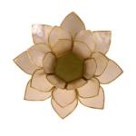 Čajový svietnik lotos stredne veľký